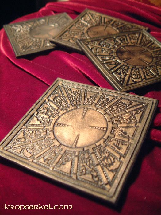 Kropserkel Hellraiser Puzzle Box Coaster